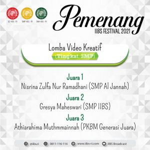 Lomba Video Kreatif :